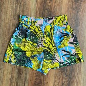 Versace Silk Shorts